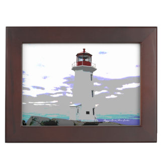Peggy's Cove N.S. coordinates memory picture box Memory Box