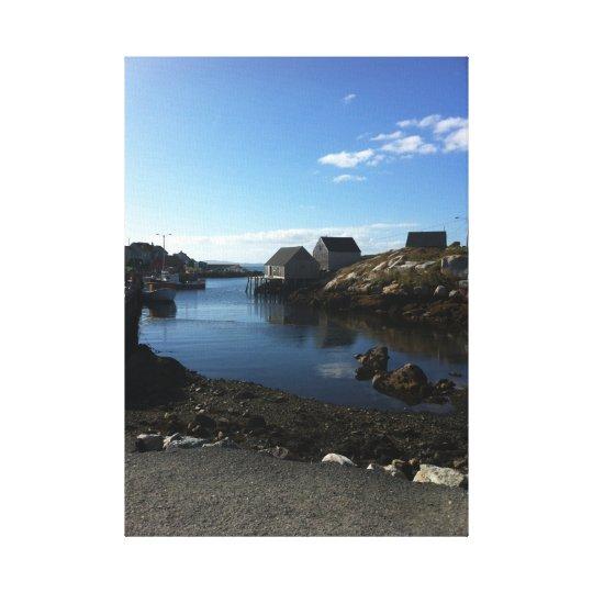 Peggy's Cove Nova Scotia Canvas Print
