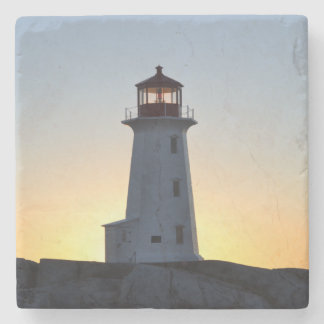 Peggy's Cove Nova Scotia drink Coaster