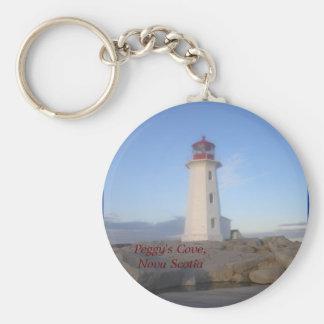 Peggy's Cove, Nova Scotia Keychain