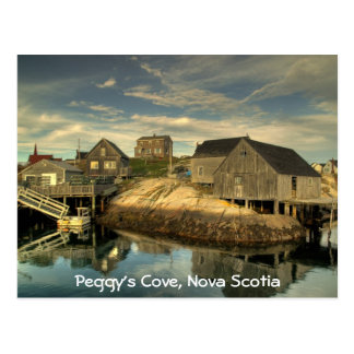 Peggy's Cove, Nova Scotia Postcard