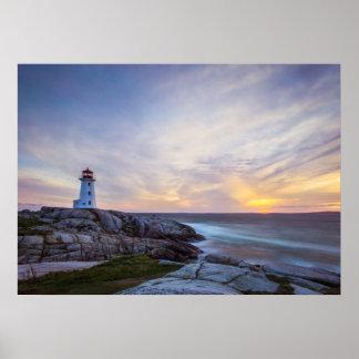 Peggy'S Cove | Nova Scotia Poster