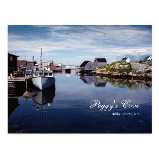Peggy's Cove Postcard
