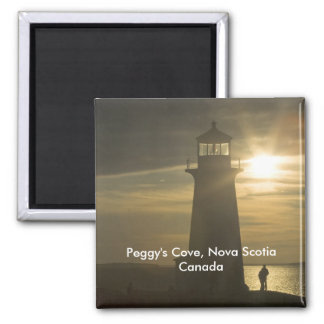 Peggy's Cove Sunset Magnet