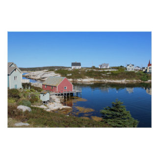 Peggy's Cove Village Poster