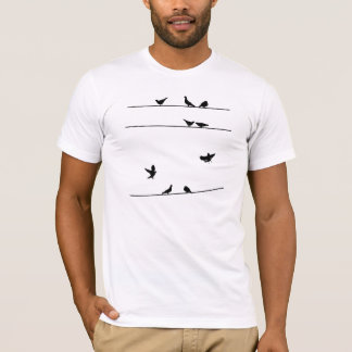 Pegions on the Wire Shirt