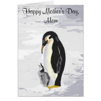 Peguin Mother's Day Card