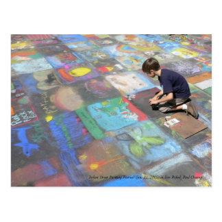 Peignant une vie merveilleuse… cartes postales