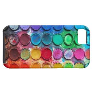 Peignez le cas de l iPhone 5 de boîte de couleur Coque Case-Mate iPhone 5