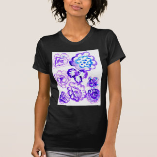 Peinture bleue Strokes4 T-shirt