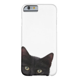 Peinture curieuse de Kitty Digital Coque Barely There iPhone 6
