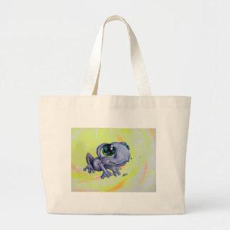 Peinture de grenouille sur des enfants d'animal de sac en toile jumbo