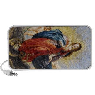 Peinture de Peter Paul Rubens de conception impecc Haut-parleurs Notebook
