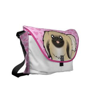 Pekeingese Love (show cut) Commuter Bag