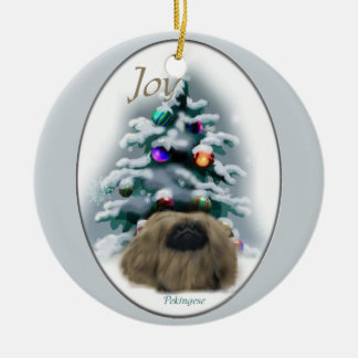 Pekingese Christmas Gifts Ornament