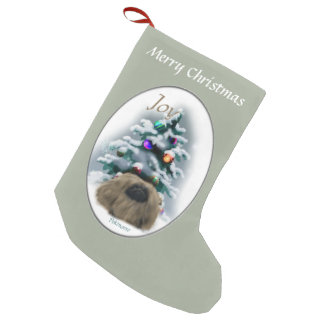 Pekingese Christmas Small Christmas Stocking