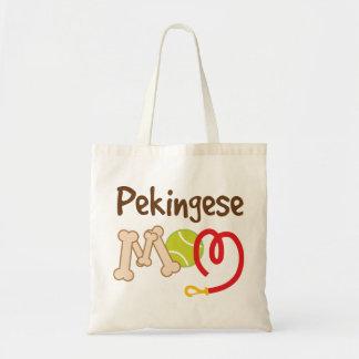 Pekingese Dog Breed Mom Gift Tote Bag