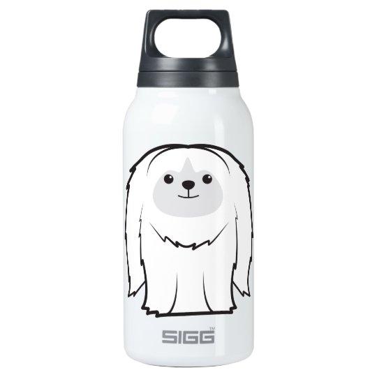 Pekingese Dog Cartoon Insulated Water Bottle