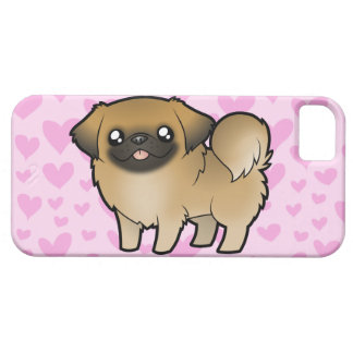 Pekingese Love (puppy cut) iPhone 5 Cover