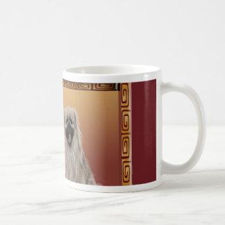 Pekingese on Asian Design Chinese New Year, Dog Coffee Mug