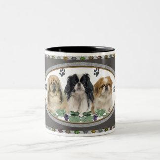 Pekingese Pawprints Mug