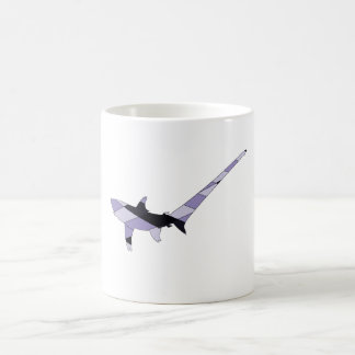 Pelagic thresher coffee mug