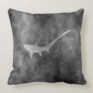 Pelagic thresher throw pillow