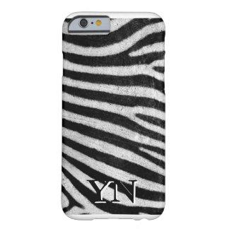 Pelé de Zebra Barely There iPhone 6 Case