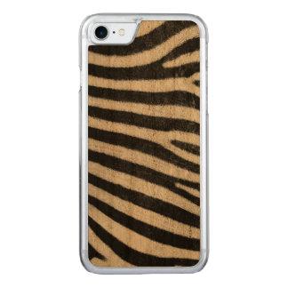 Pelé de Zebra Carved iPhone 8/7 Case