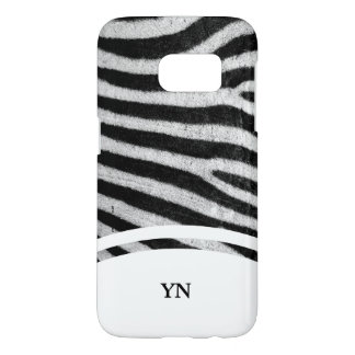Pelé de Zebra Samsung Galaxy S7 Case