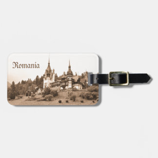 Peles Castle in Sinaia, Romania Bag Tag