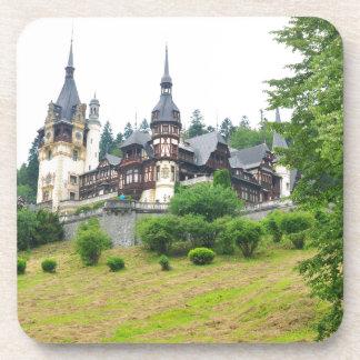 Peles Castle in Sinaia, Romania Drink Coasters