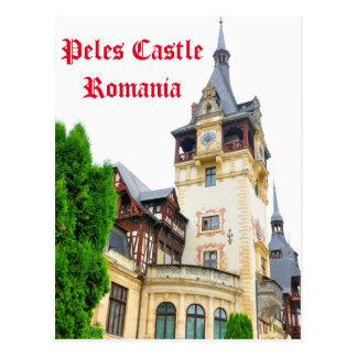 Peles Castle in Sinaia, Romania Postcard