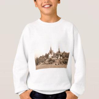 Peles Castle in Sinaia, Romania Sweatshirt
