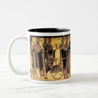 Peleus and Thetis Wedding Procession Mug