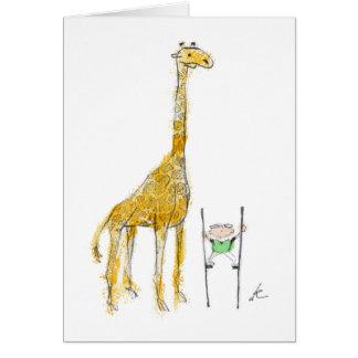 Pelham & the Giraffe Card