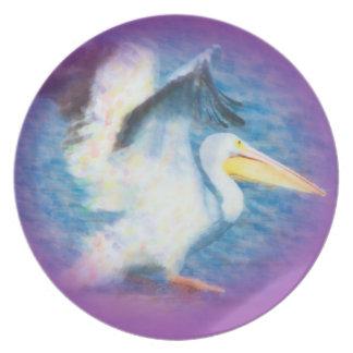 pelican17 watercolor plate