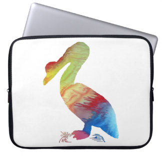 Pelican art laptop sleeve