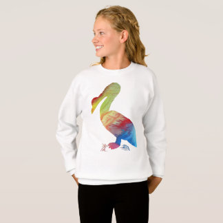 Pelican art sweatshirt