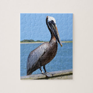 Pelican At Southport Jigsaw Puzzle