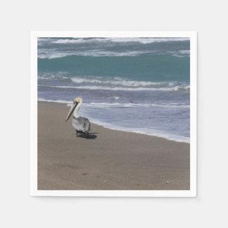 Pelican Beach Friends Paper Napkin