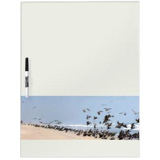 Pelican Bird Wildlife Animal Beach Dry Erase Board