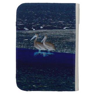 Pelican Birds Wildlife Animals Beach Ocean Kindle Keyboard Cases