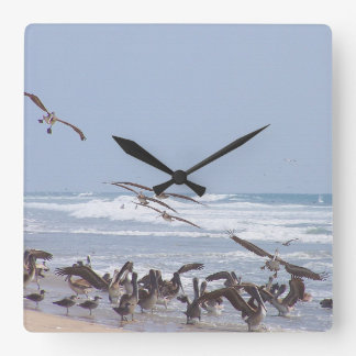 Pelican Birds Wildlife Animals Wall Clock