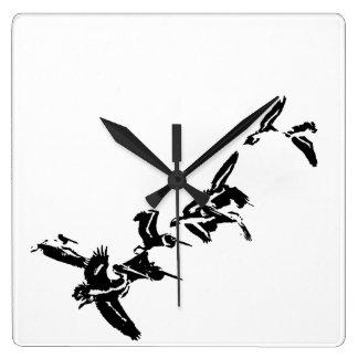 Pelican Birds Wildlife Animals Wallclock