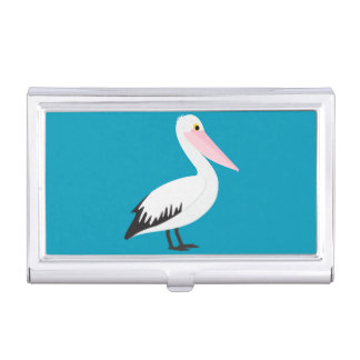 Pelican Business Card Holder
