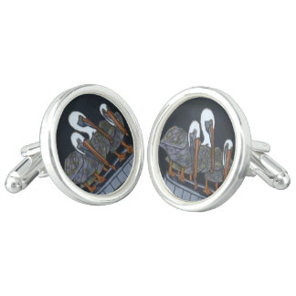 Pelican Cuff Links