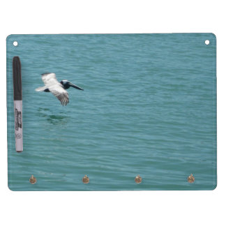 Pelican Flight Dry Erase Board With Keychain Holder