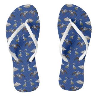 Pelican Frenzy Flip Flops (Blue)