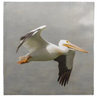 Pelican In Flight Napkin
